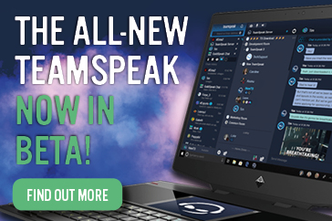 New TeamSpeak now live